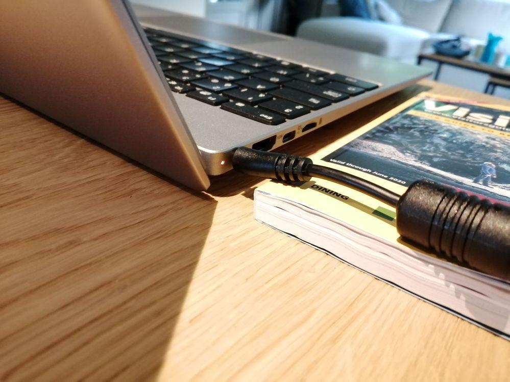 laptop laadt wel