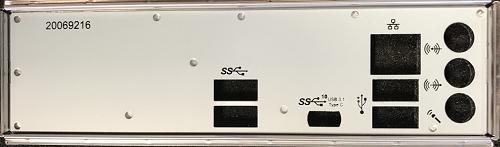 USB Ports Mainboard-Blende