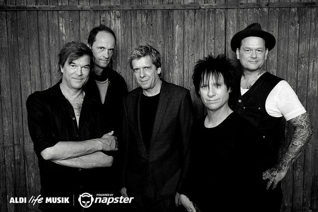 Die Toten Hosen auf ALDI life Musik powered by Napster
