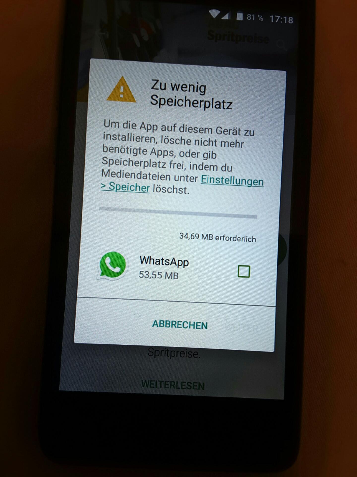 App Kann Nicht Heruntergeladen Werden