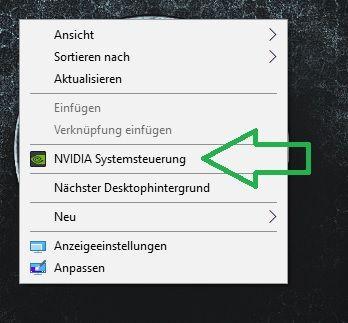 Desktop -> rechts Klick