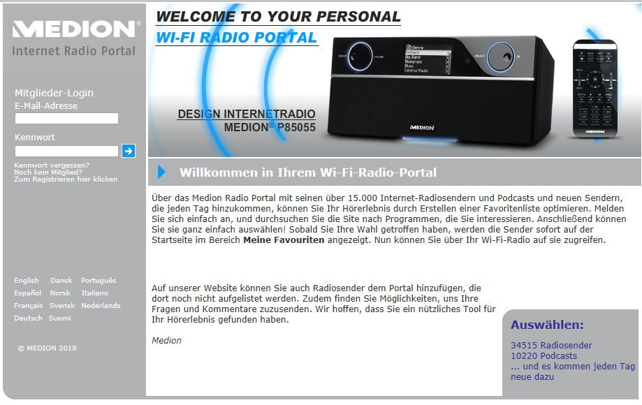 WiFi Radio Frontier (Medion).JPG