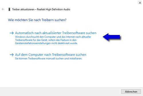 Treiber aktualisieren pc medion Windows 10: