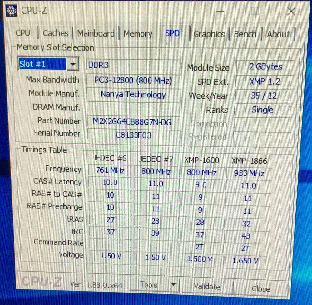 XMP 1600 mit XMP 1.2
