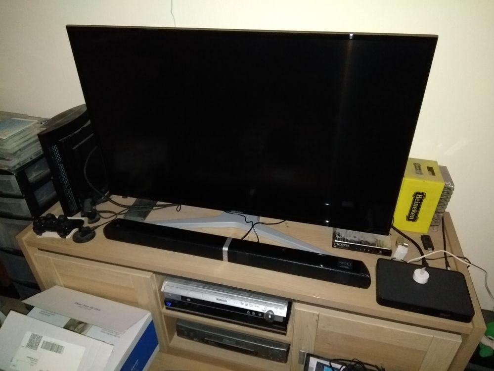 Mijn Medion TV + soundbar