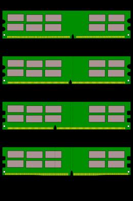 DDR DIMM im Vergleich