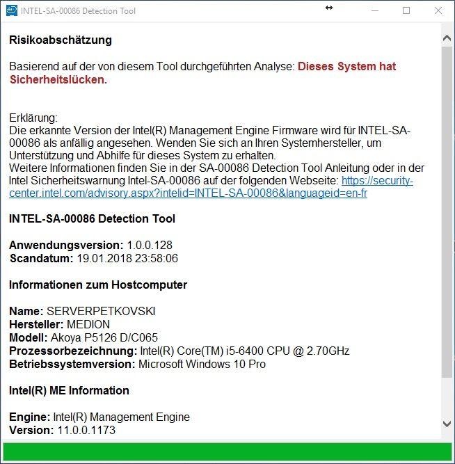 intel-sa-00086 detection tool 19.01.2018